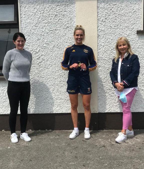 Órla O Dwyer visits the school